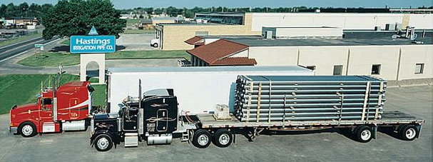 Hastings Irrigation Pipe Co. | Industrial piping | Central Plains | Nebraska